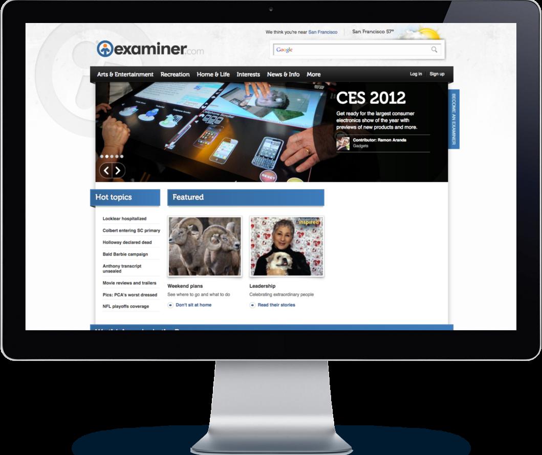 Old Examiner.com